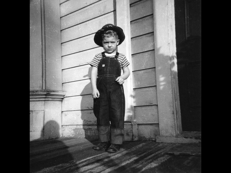 image of Timmy, 706 S.E. 14th Street, Portland, Oregon, early 1950's