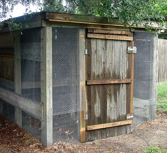 image of old chicken coop